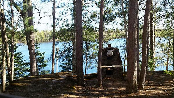 Peninsula Pines Resort Main House lake view.