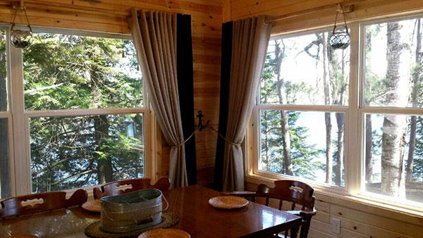 Peninsula Pines Resort Main House Porch.