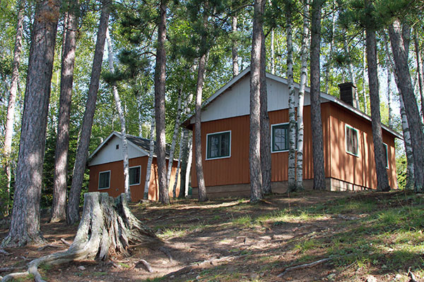 One bedroom cabins.